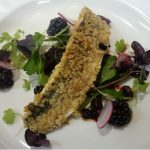 Mackerel and Blackberry Salad