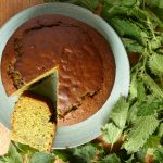Delicious Nettle and Honey Cake