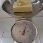 Weighing Butter