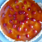 Rosehip and Custard Tart