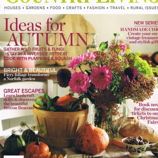 Country Living Magazine, October 2012