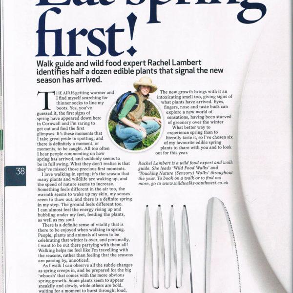 Country Walking Magazine, April 2010