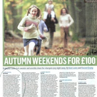The Sunday Times, October 2012