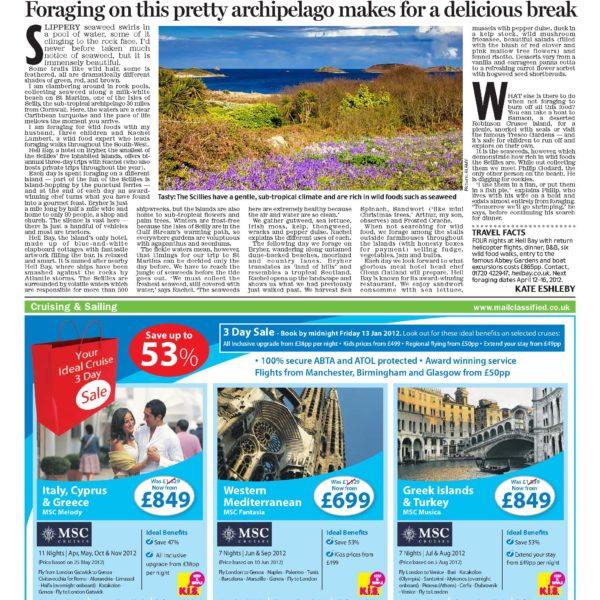 Daily Mail, January 2012