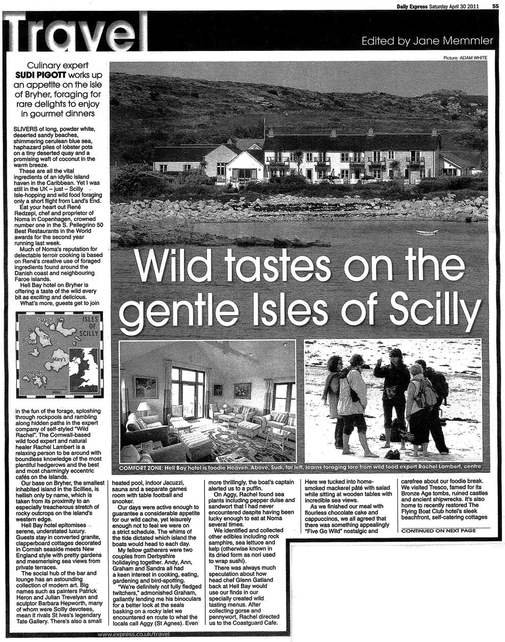 Daily Express, May 2011