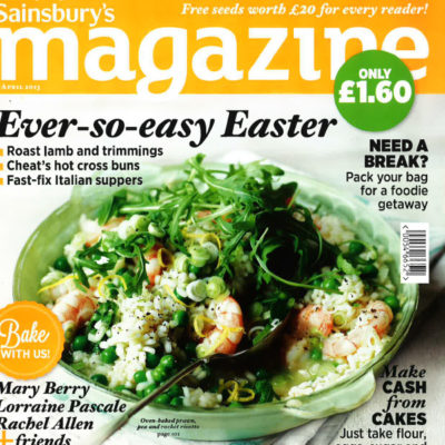 Sainsbury's Magazine, April 2013