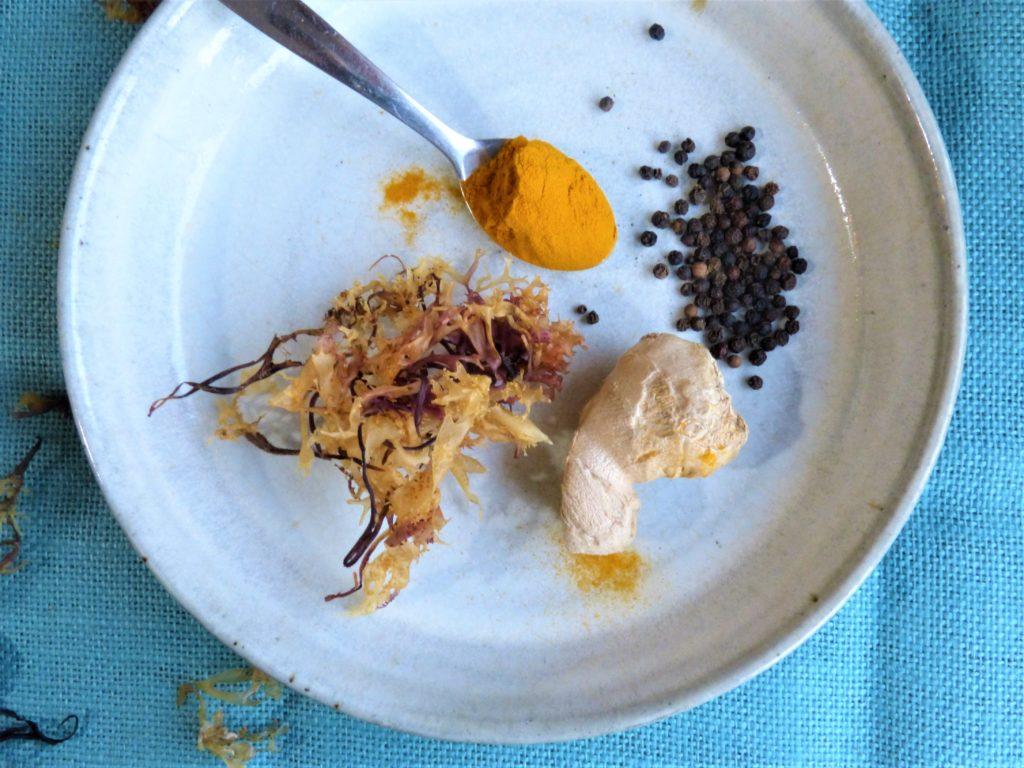 Ingredients for Carrageen Cough Mixture