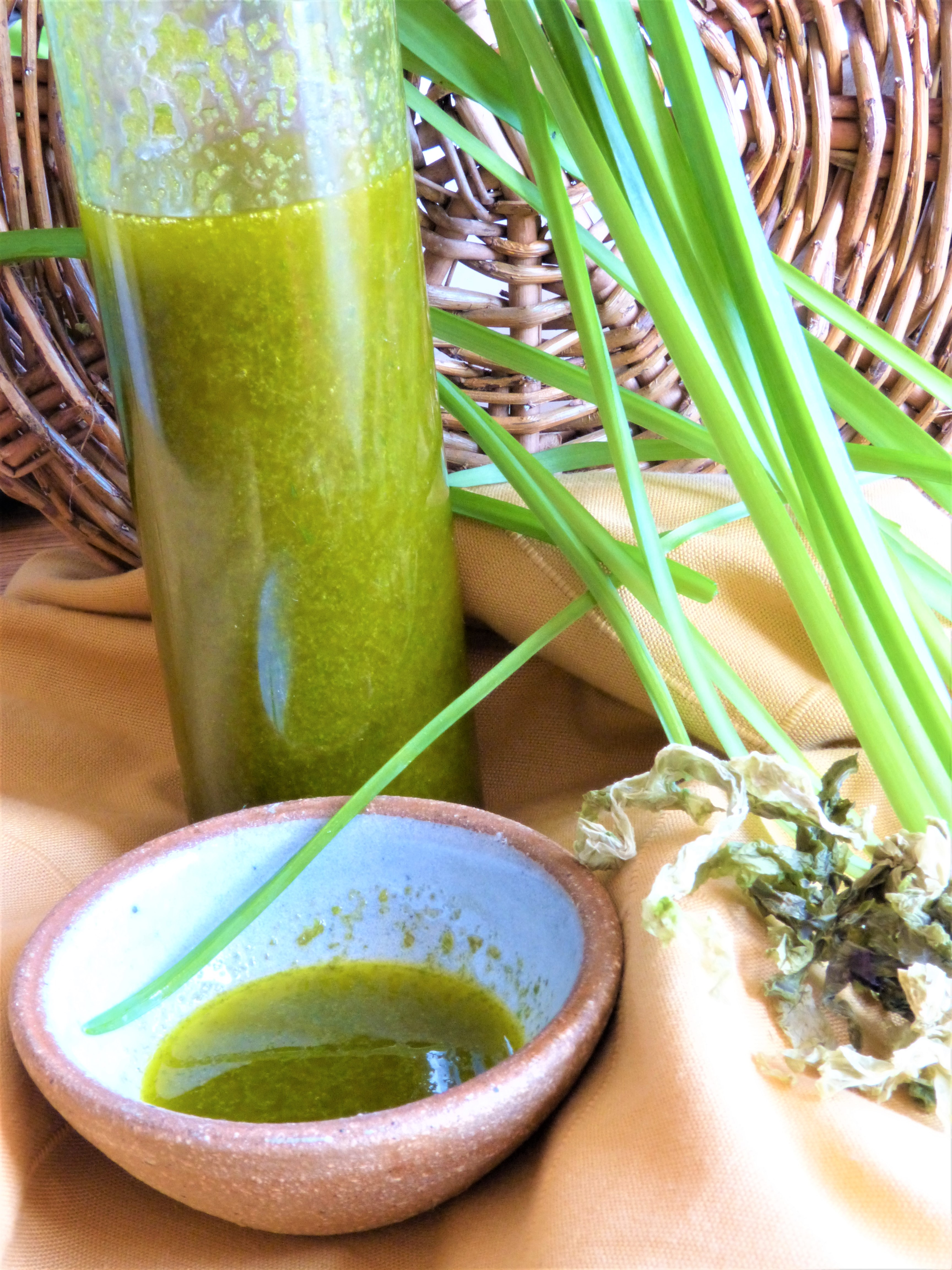 Wild Garlic and Seaweed Oil (inspired by Nathan Outlaw)