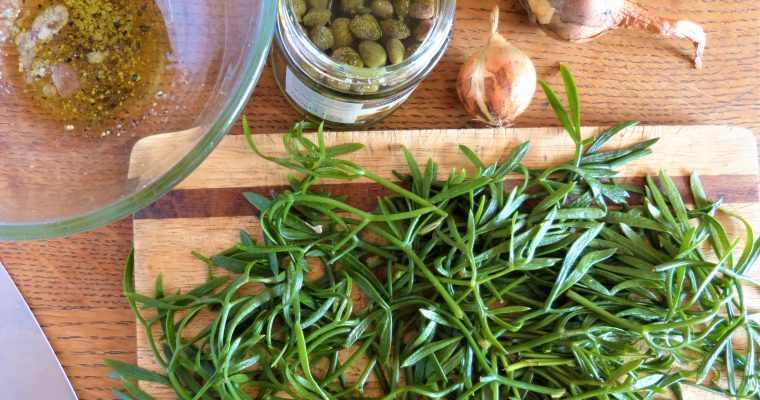 Rock Samphire Salsa Verde