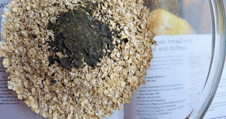 Tasty Dulse Seaweed Soda Bread (Gluten-free)