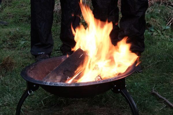 Fireside song in Cornwall