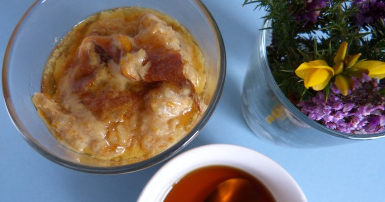 Gorse Flower Rice Pudding