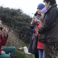 Learn about foraging through songs and tasters
