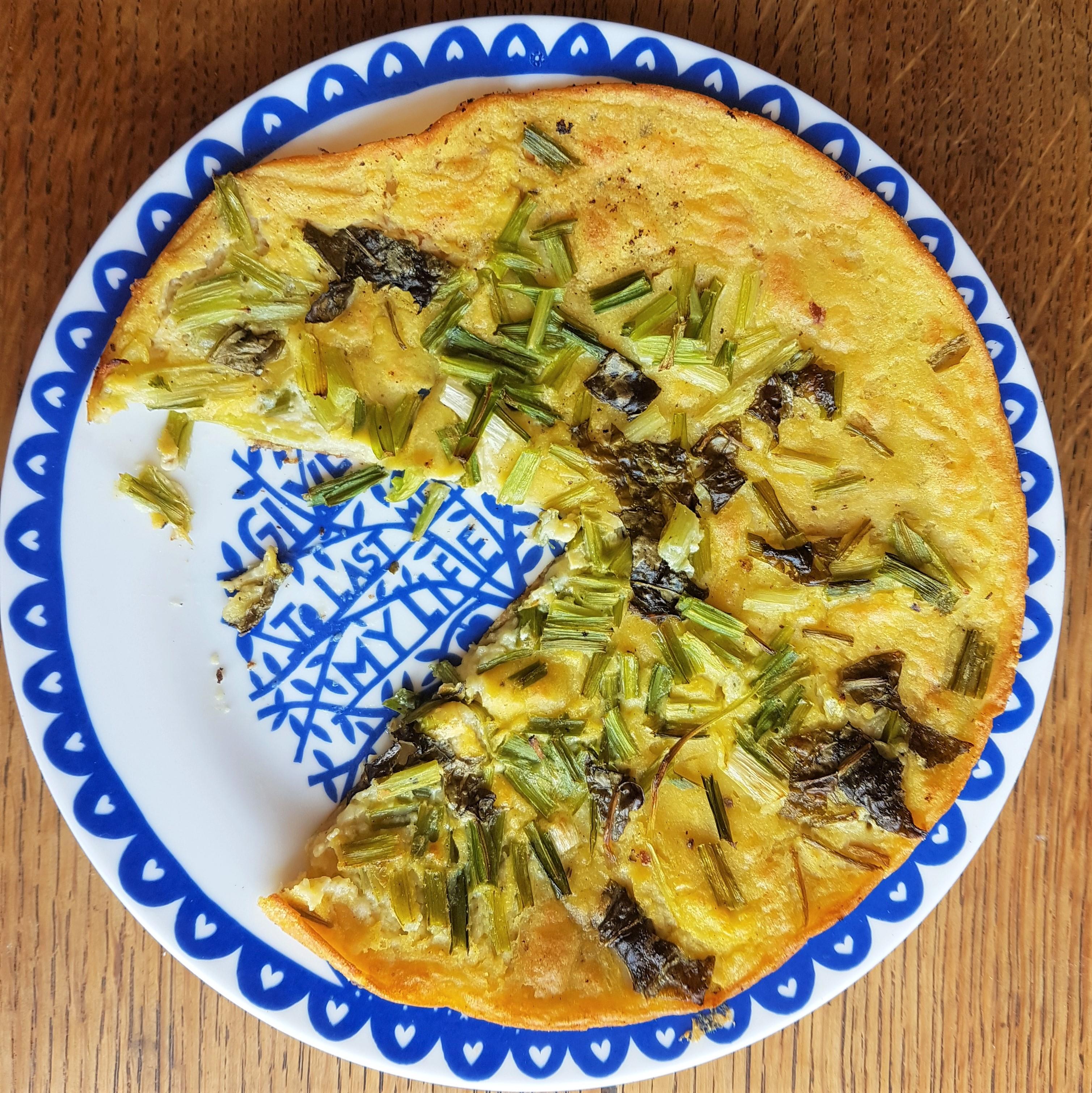 Wild Spring Farinata Recipe