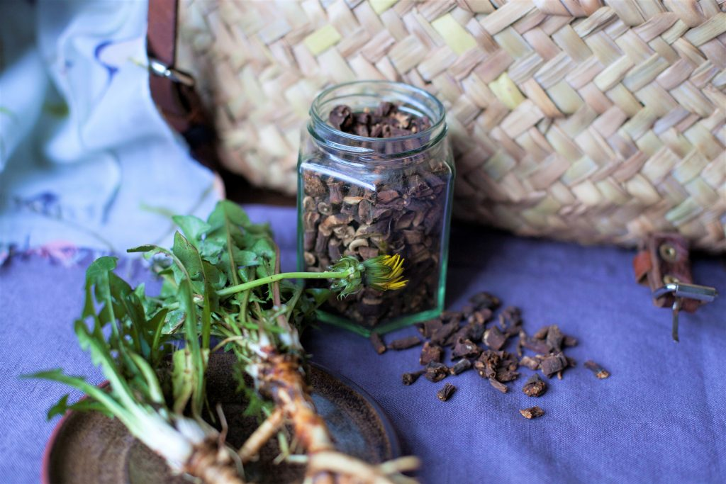 Roasted Dandelion Coffee