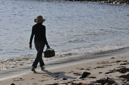 Walking the shoreline, Isles of Scilly