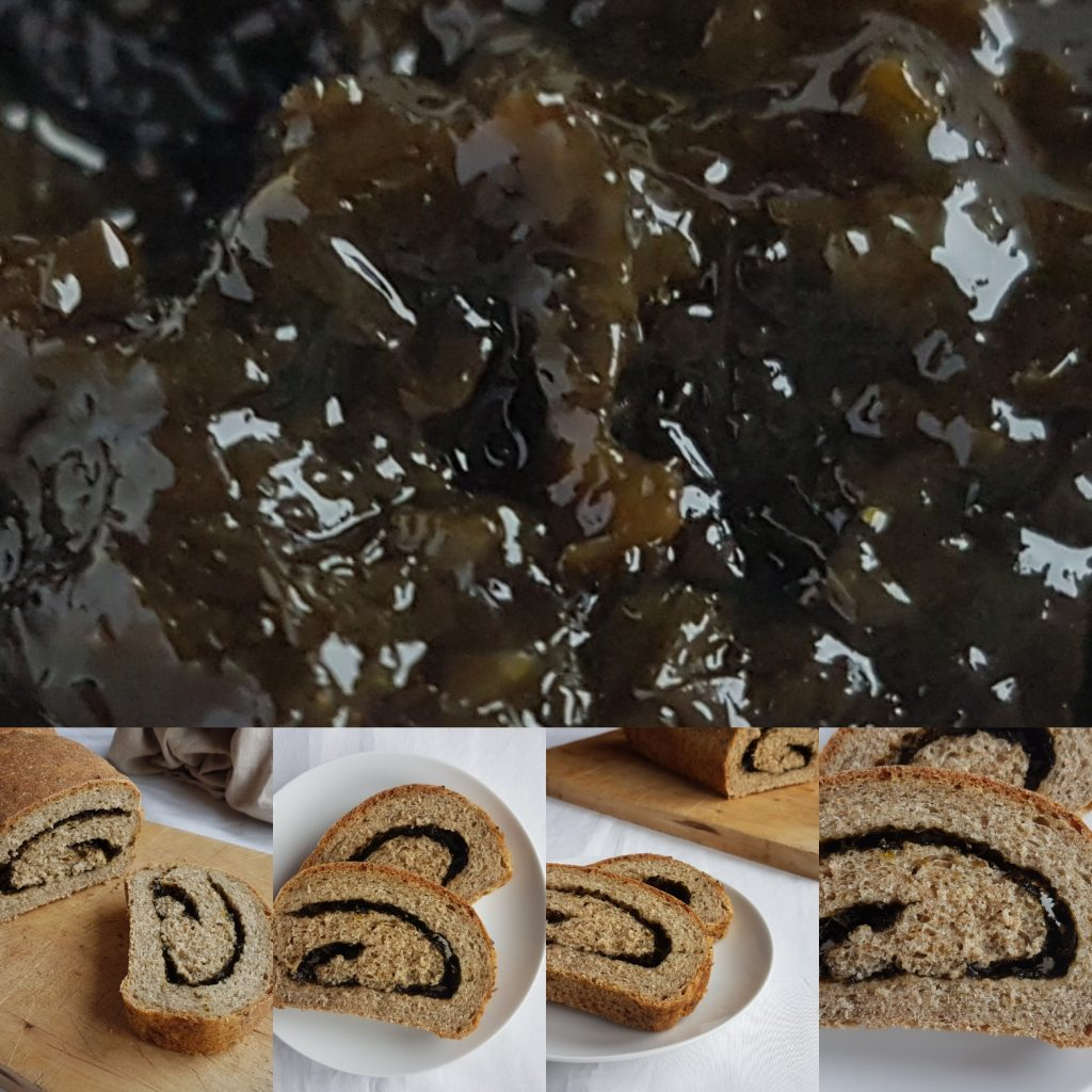swirled laverbread loaf