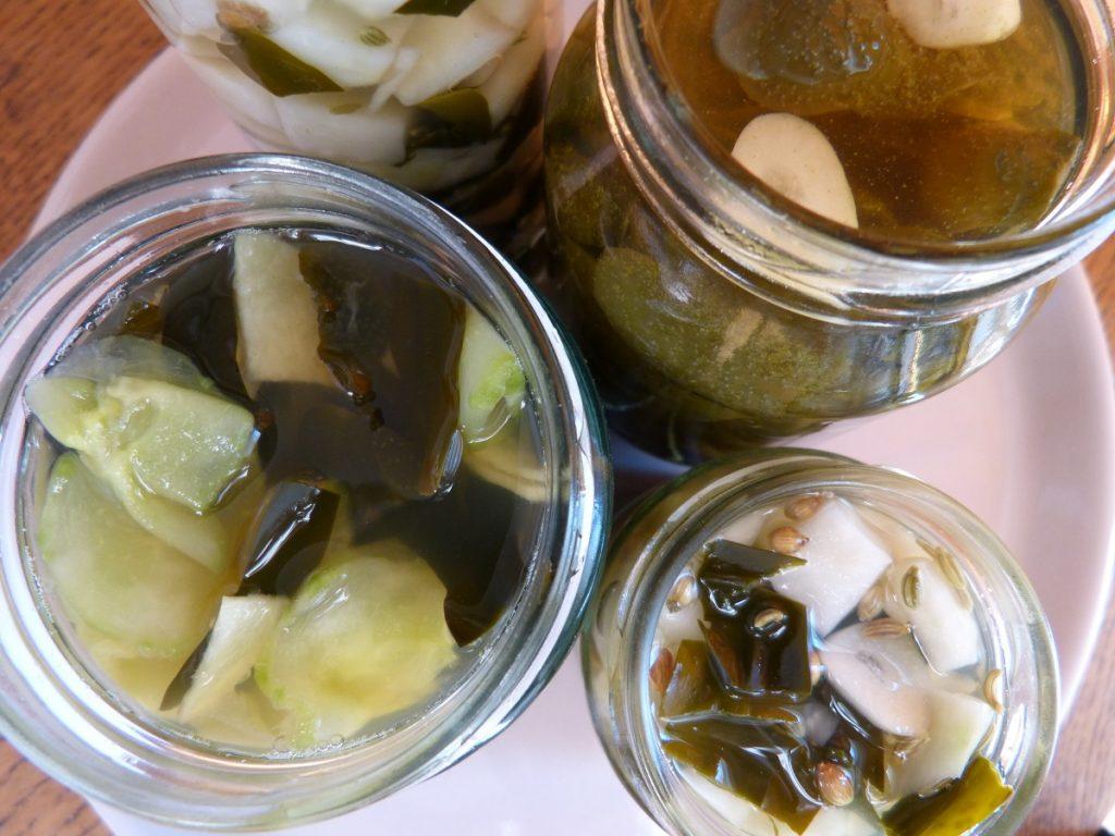 Pickled bladder tips, 3 types