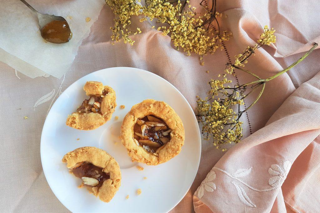 Homemade jam tart recipe with foraged elderflower jam