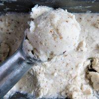 Luscious vegan ice cream spiced with wild seeds