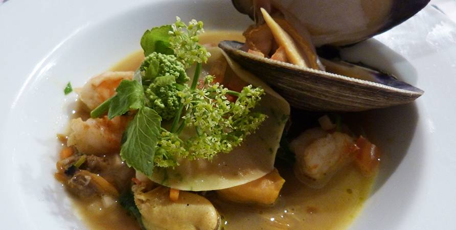 Clam and Alexanders Broth